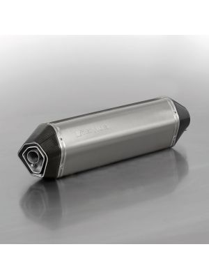 HEXACONE, RACING slip on (muffler with connecting tube) for HUSQVARNA 701 Supermoto, titanium, without homologation
