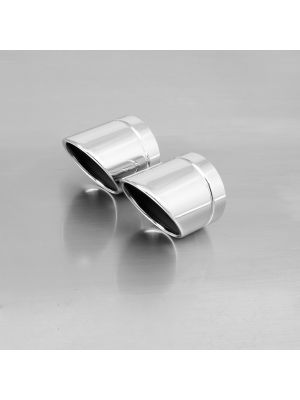 "endcap ""Rolled Up"" (2 Stk.) stainless steel"